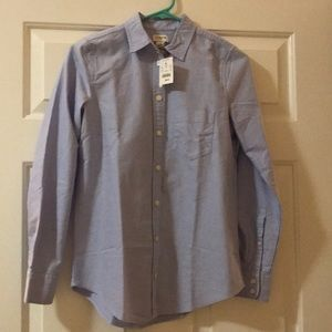 J crew button down collard shirt